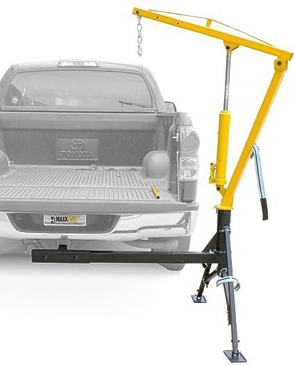 MaxxHaul 70238 Receiver Hitch Mounted Crane - 1000 lbs  Capacity
