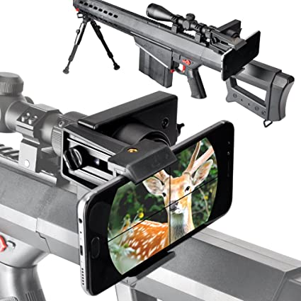 New Rifle Scope Mount System Adapter Holder Bracket for Moblie Phone Camera
