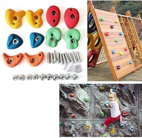 RecoverLOVE 10 Piezas de presas de Escalada en Roca para ...