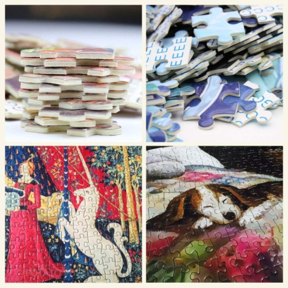 OfinaBiz New Wooden Jigsaw Puzzles Foliage Autumn Basswood Intellectual Development(1000 Pieces Jigsaw Puzzle - 803