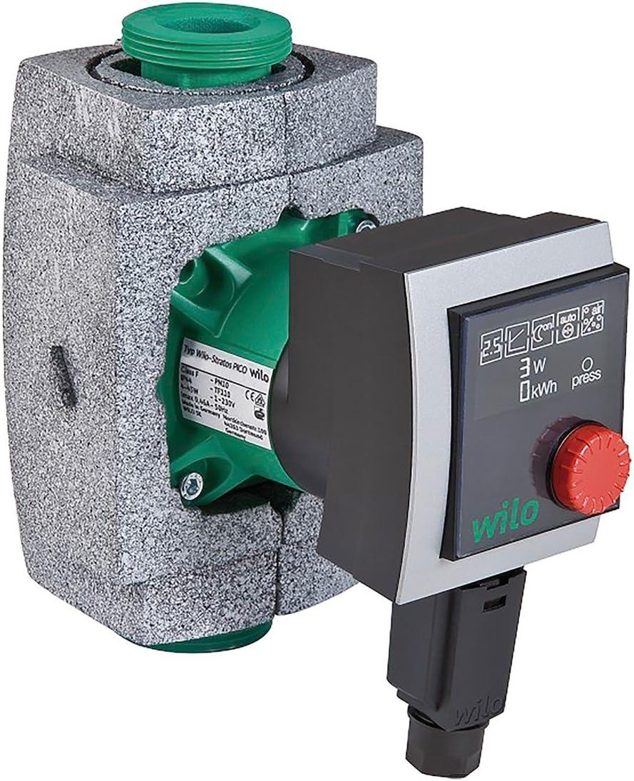 Wilo Heizungspumpe 4132453 Hocheffizienzpumpe Stratos Pico elektronisch kommutierter Motor 25/1-6 - Umwälzpumpe Test