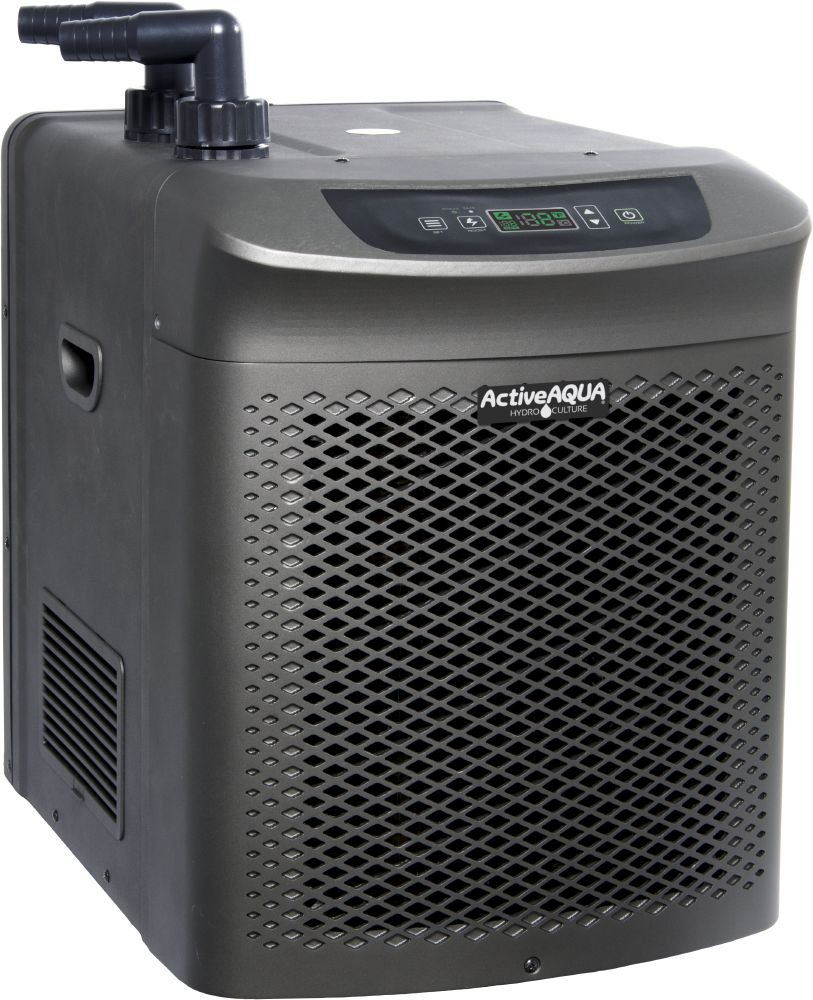 Active Aqua AACH100HP Hydroponic Water Chiller Cooling System, 1 HP, Rated per hour:10,050 BTU, User-Friendly