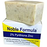 Noble Formula 2% Pyrithione Zinc (ZnP) Vegan Mango Bar Soap, 3.25 oz