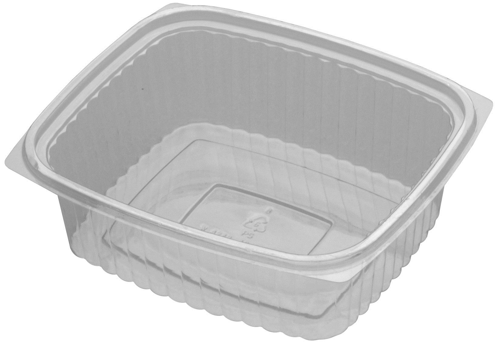 D and W Fine Pack Plastic Container, 32 Ounce - 250 per case.