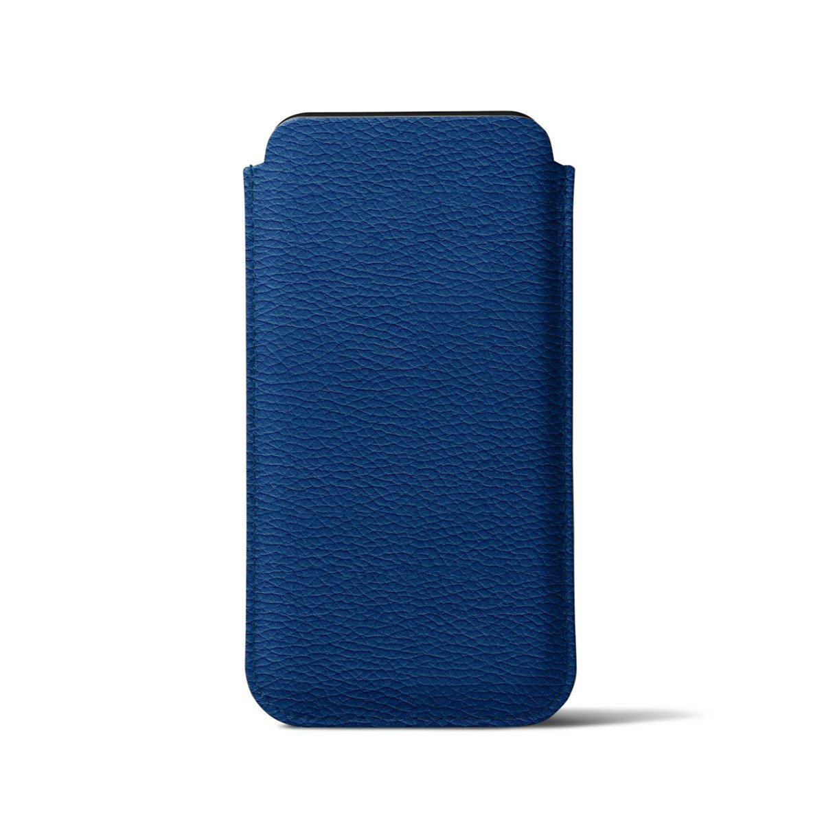 Lucrin - Classic Case for iPhone X - Royal Blue - Granulated Leather by Lucrin (Image #6)