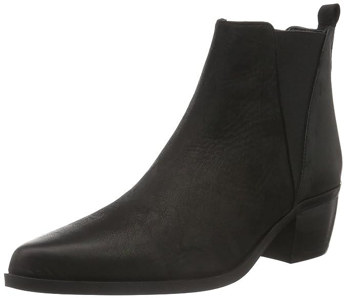 Mentor Chelsea Boot, Damen Chelsea Boots, Schwarz (Black Leather), 36 EU