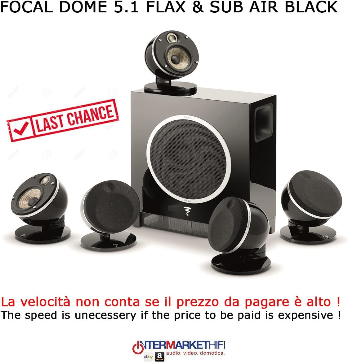 focal dome flax 5.1 black speaker review