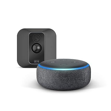 Die Neue Blink Xt2 System Mit 1 Kamera Echo Dot 3rd Gen Anthrazit Stoff Funktioniert Mit Alexa Alle Produkte