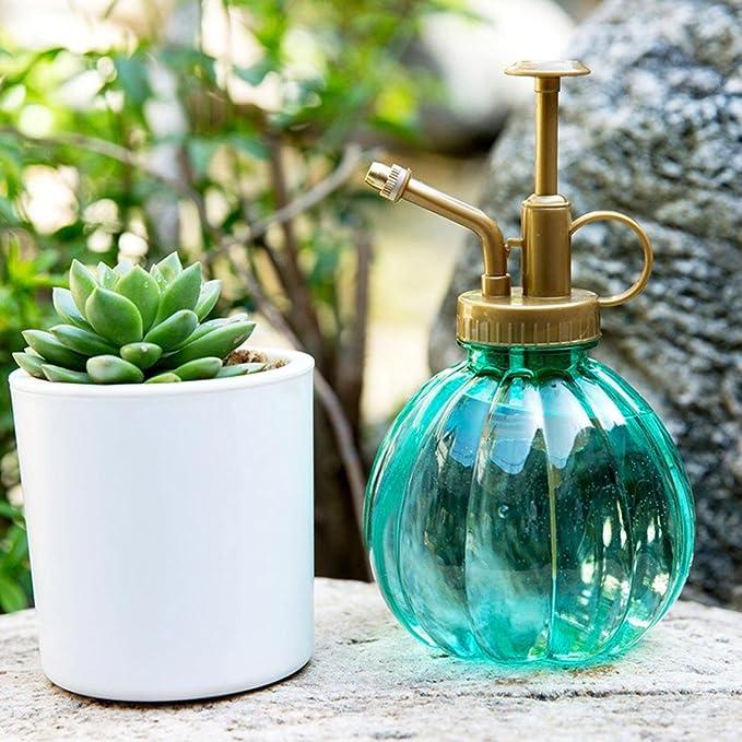 Gaddrt - Maceta de riego para Plantas de 350 ML, Spray para Jardín, pulverizador, Peluquería, Polipropileno y Polietileno, 15 x 8, 5 cm, Azul: Amazon.es: ...