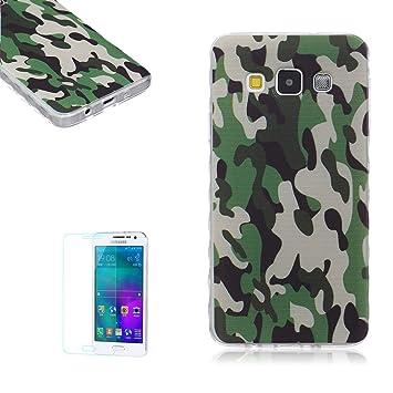 af25f533675 Samsung Galaxy A3 (2015) Funda [Regalos gratis protector de  pantalla],Funyye Gel de silicona suave ultra ...