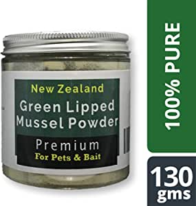 OURONS Green Lipped Mussel Powder para Perros - 130 g de GLM ...