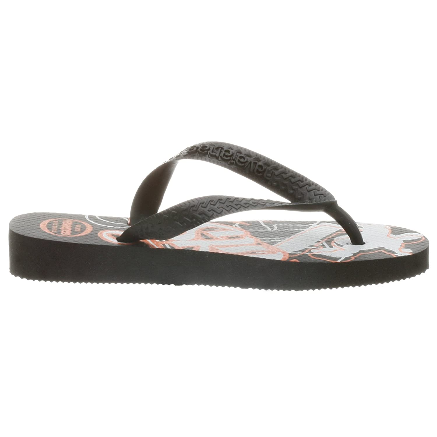 Havaianas Kids Radical Flip Flop ,Black,23//24 BR Toddler//Little Kid 9 M US Toddler