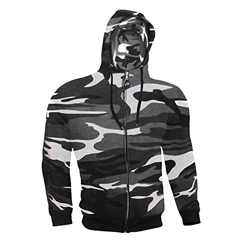 Light Grey Armoured Hoodie Motorcycle Motorbike Summer Hoody Jacket Zip Up Removable Armor Bikers Size = Large