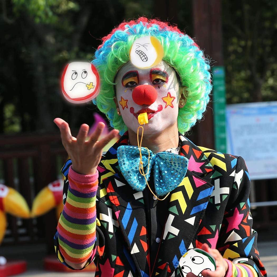 Cr/éatif Jongler Ballon pour Les Enfants Kit de Balle de Jongle Durable 10PCS Balle De Jonglage pour D/ébutants Mini Balles de Jonglerie de Qualit/é Joyibay Balles de Jonglage