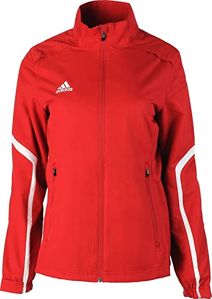 a1ce99296303b adidas Women's Ladies Cut Track Jacket- Team Style Performance Sport Full  Zip