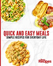 Quick and Easy Meals: Simple Recipes for Everyday Life (English Edition)