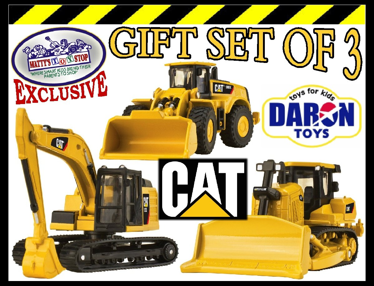 amazon com daron cat caterpillar metal machines bulldozer