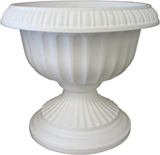 "product image for Bloem Grecian Urn Planter, 18"", White"
