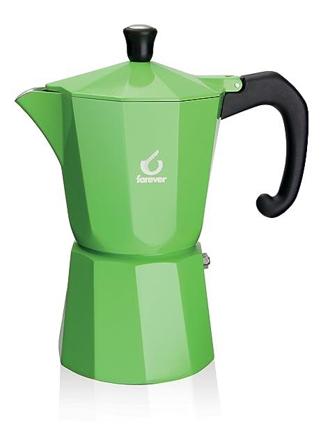 Amazon.com: Forever Super Color 1 Copa Espresso Moka Estufa ...
