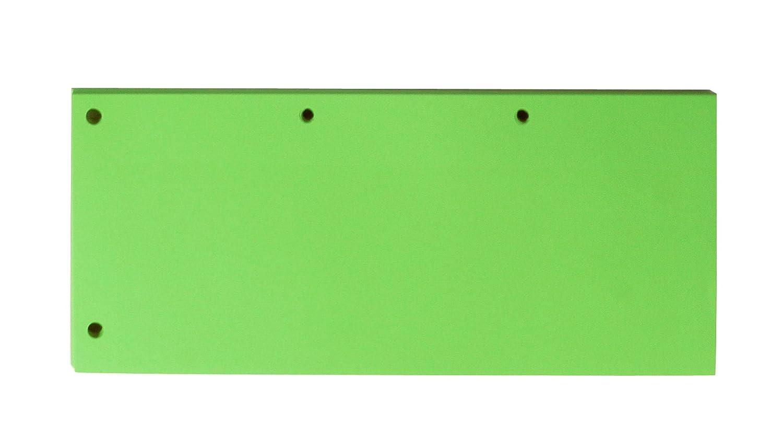 Confenzione da 60 Separatore 105x245mm Verde in Cartoncino