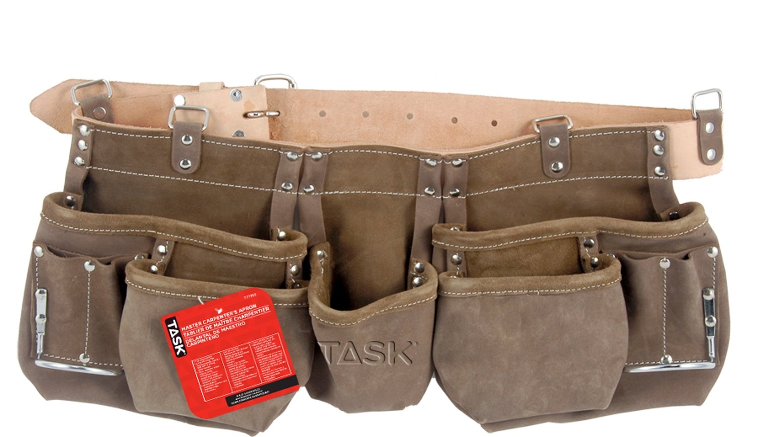Task Tools T77355 Master Carpenter's Apron, 11-Pocket