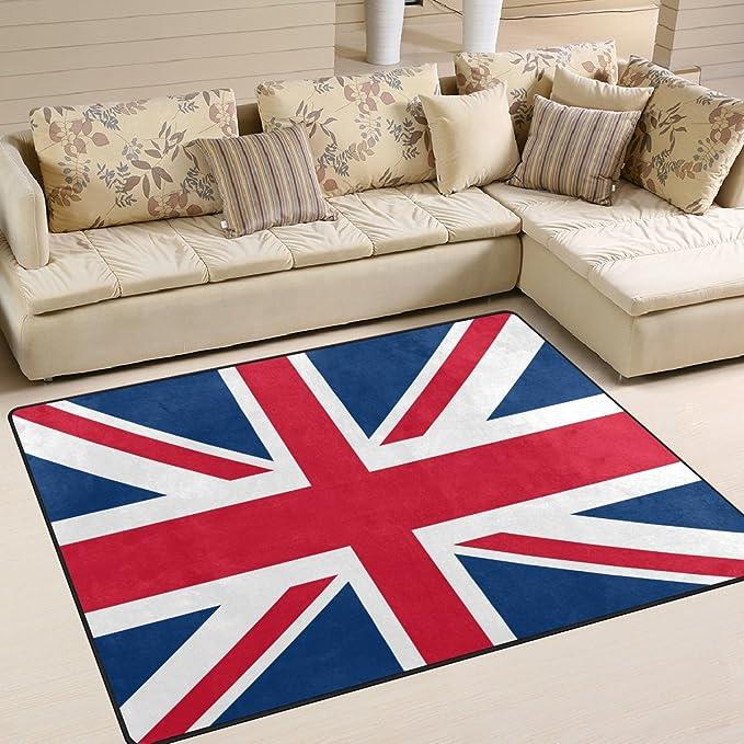 Vintage Union Jack British Flag Retro Mens House Indoor Outdoor Bedroom Slippers Adjustable Sandals