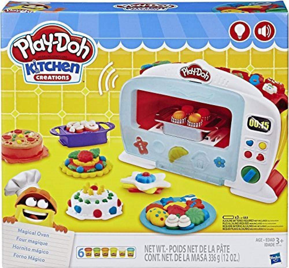 Play-Doh Kitchen Horno mágico con Luces y sonidos 3 +: Amazon.es ...