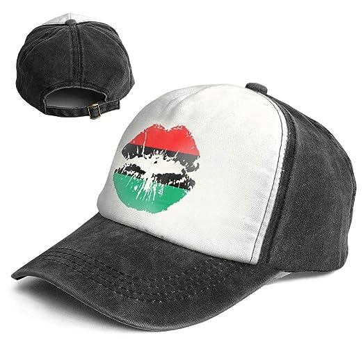 90349edf66e Amazon.com  QZDLq Fashion Vintage Hat Pan American African Heritage ...