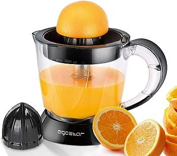 Aigostar Thomas 30RGX - Exprimidor eléctrico BPA Free