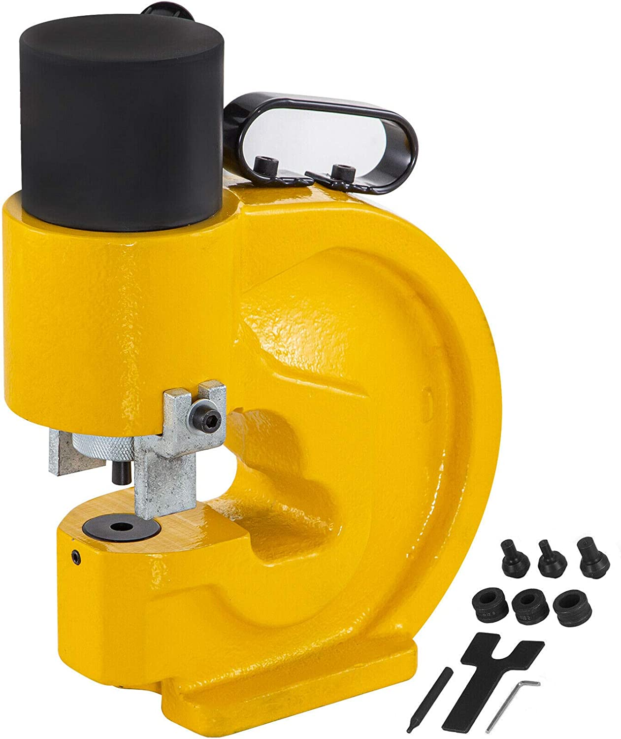 Happybuy CH-60 Hydraulic Hole Punching Tool 31T Hole Digger Force Puncher Smooth Hole Puncher For Iron Plate Copper Bar Aluminum Stainless Steel