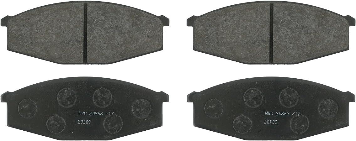 Bosch BP1093 QuietCast Premium Semi-Metallic Rear Disc Brake Pad Set