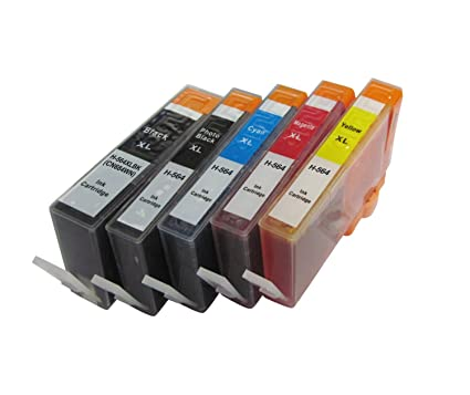 5-PK Generic cartucho de tinta 564 X L para HP 564 X L para HP ...