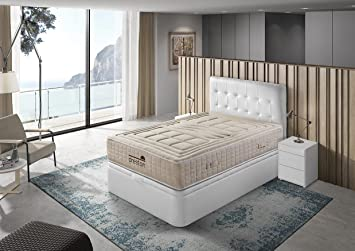 Dreston Colchón Alta Gama Lino Natural Mandalay (150_x_190_cm): Amazon.es: Hogar