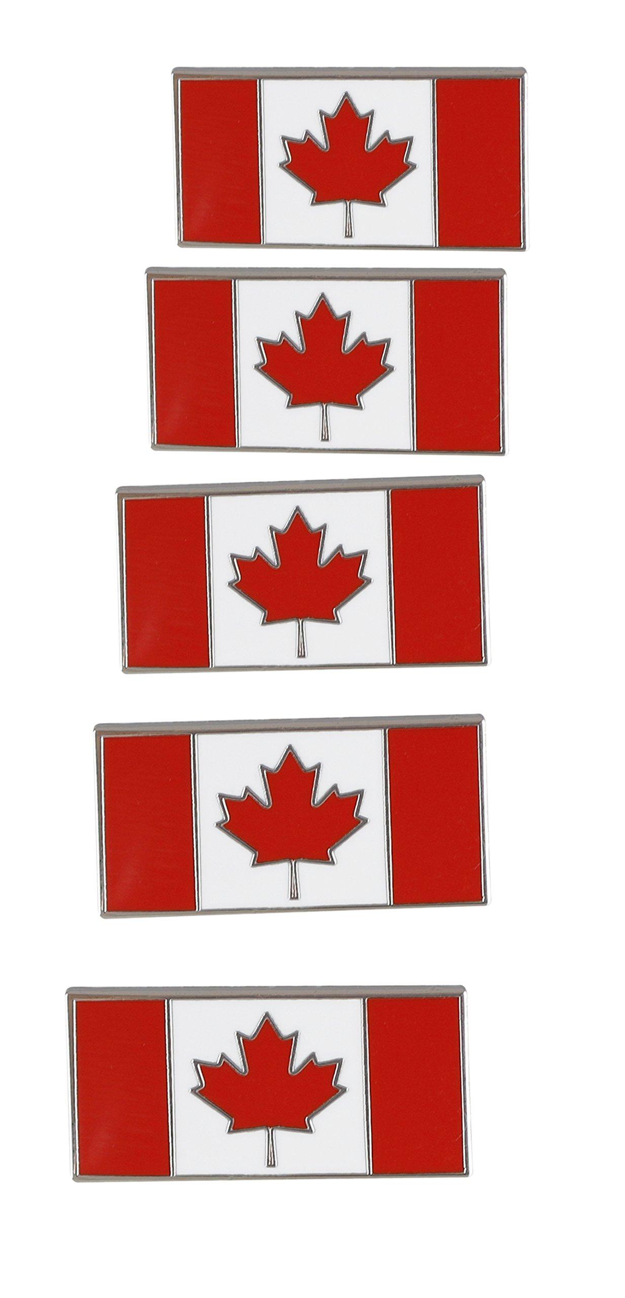 Forge Canadian Flag-Maple Leaf - Enamel Lapel Pins- Bulk (100 Pins) by Forge (Image #3)