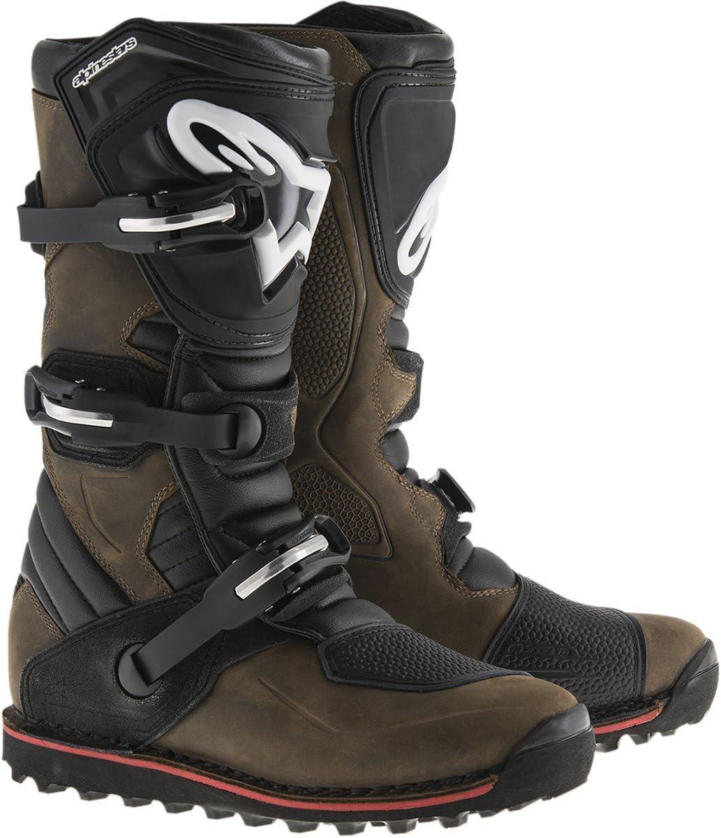 Alpinestars Mens Tech T Boots Black//Red, Size 9