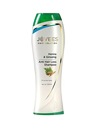 Buy Jovees Henna Ginseng Anti Hair Loss Shampoo 250ml Online At