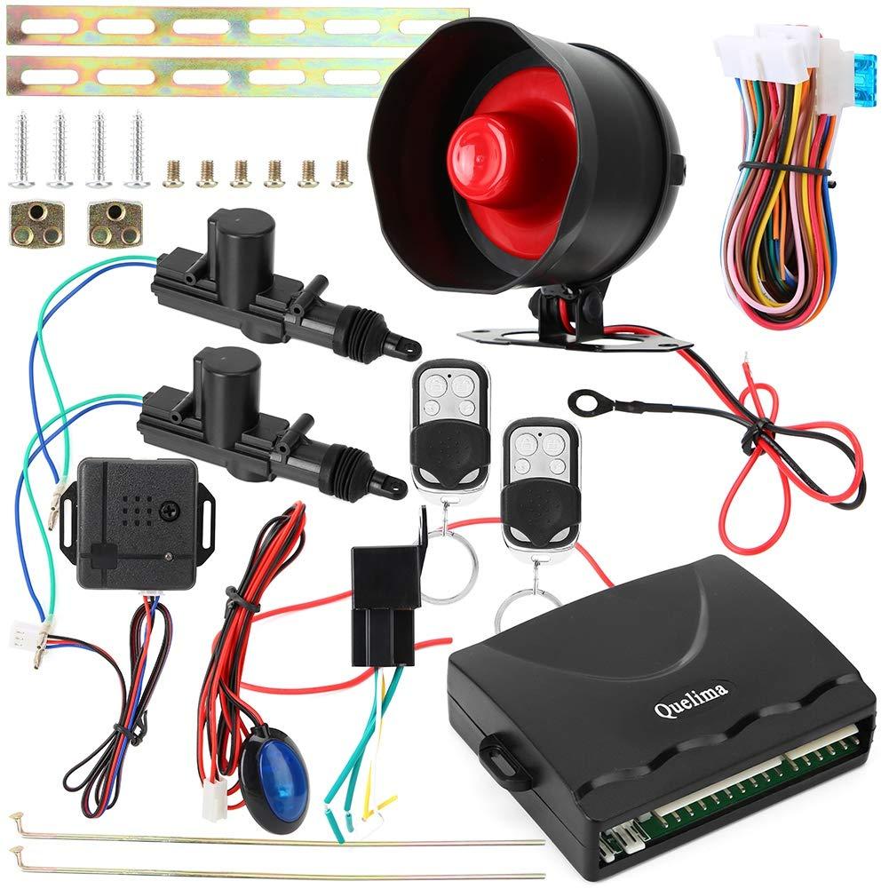 Amazon com: Zopsc Car Alarm System Remote Central Locking