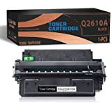 1-Pack Black Toner Compatible 10A | Q2610A Toner Cartridge Replacement for HP Laserjet 2300 2300n 2300d 2300dn 2300dtn 2300L