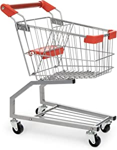 Milliard Toy Shopping Cart for Kids, Toddler Shopping Cart Toy