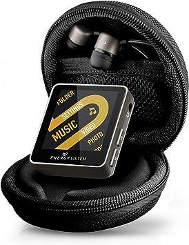 Energy Sistem Urban 2508 - Reproductor MP4 con auriculares in-ear (8 GB, estuche y radio FM) dark iron: Amazon.es: Electrónica