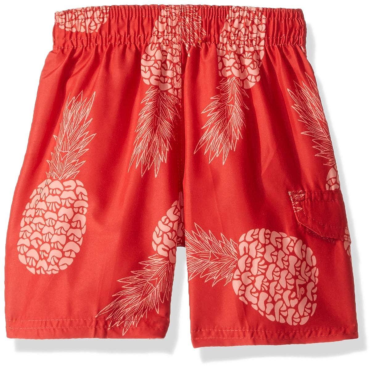 f14667b0c3 14/16 6430 Red Kanu Surf Boys Big Pina Pineapple Quick Dry Beach Board  Shorts Swim Trunk Large