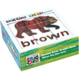 Mudpuppy The World of Eric Carle Brown Bear Puzzle – Colorful Puzzle Pieces Form 6 Lovable Book Characters for Ages 1-3