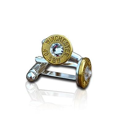 SJP Cufflinks Bullet Manschettenknöpfe (Gold) mit Herren