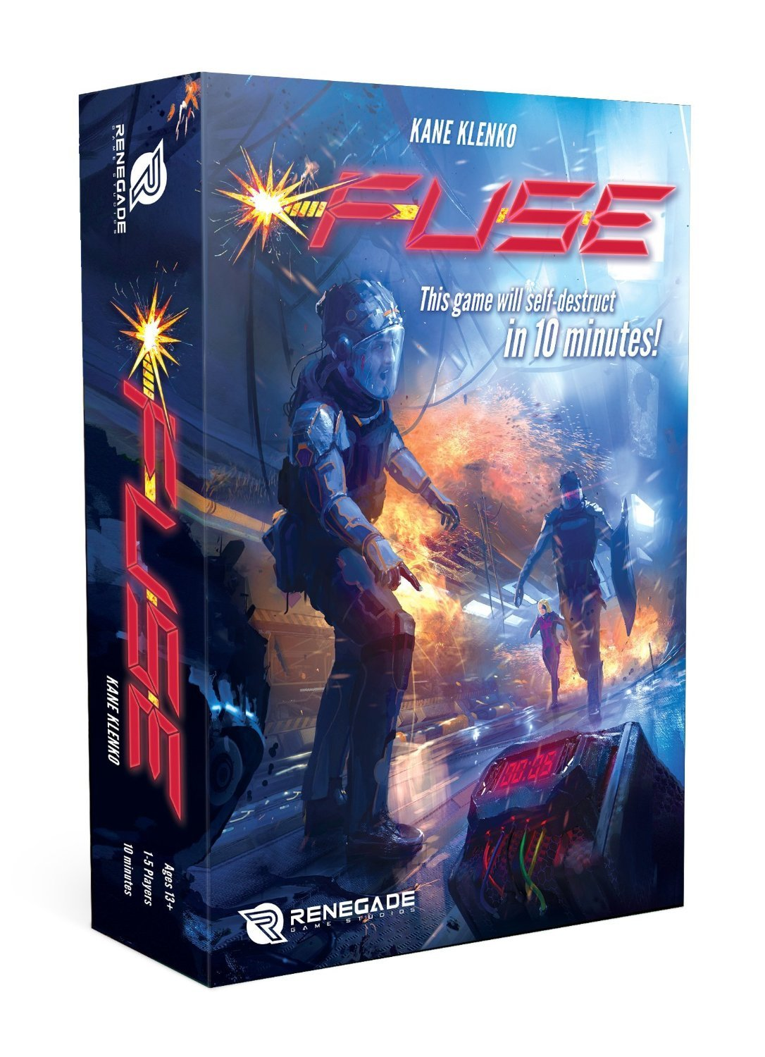 FUSE DICE GAME: Amazon.es: Libros en idiomas extranjeros