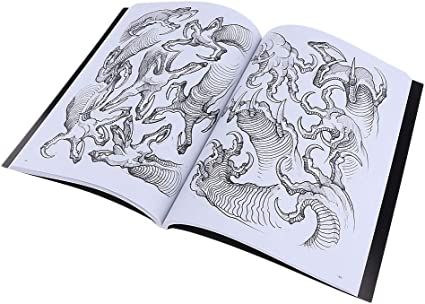 190 Páginas Libros Tatuajes Referencia Manuscritos Libro Patrón ...