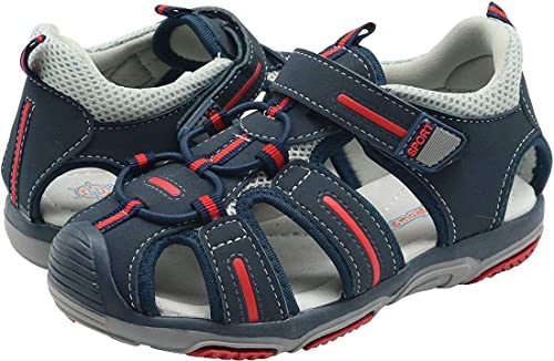 6968789e30 Saldgoiz Ragazzi Sandali Punta Chiusa Bambino Sandali Sportivi Estate Trail  Trekking Sandalo Scarpe da Spiaggia per