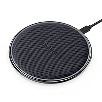 CHOETECH Cargador Inalámbrico Rápido, Carga Inalámbrica Fast Wireless Charger QI Cargador 7.5 W para iPhone XR/XS MAX/XS/X/ 8/8 Plus, 10 W Galaxy ...