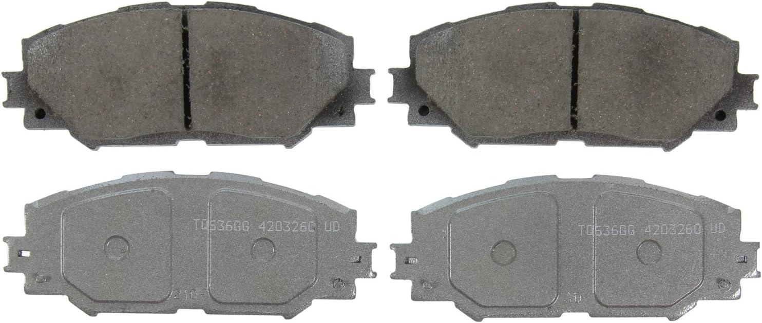 Wagner QC1210A ThermoQuiet Ceramic Disc Pad Set