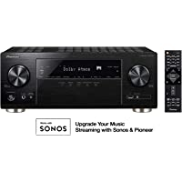Pioneer VSX-933 7.2-Channel 165 Watt Bluetooth Network Audio/Video Receiver (Black)