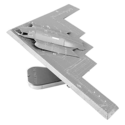 Fascinations Metal Earth ICONX B-2A Spirit Stealth Bomber 3D Metal Model Kit: Toys & Games